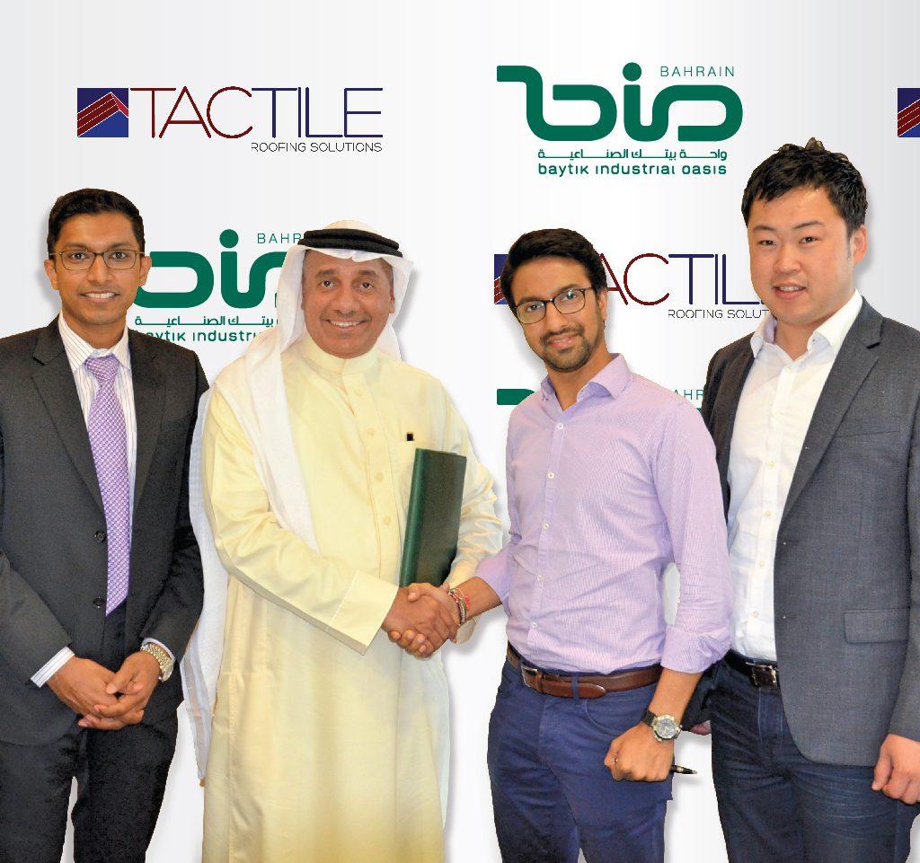 Baytik Industrial Oasis in Bahrain welcomes new tenant