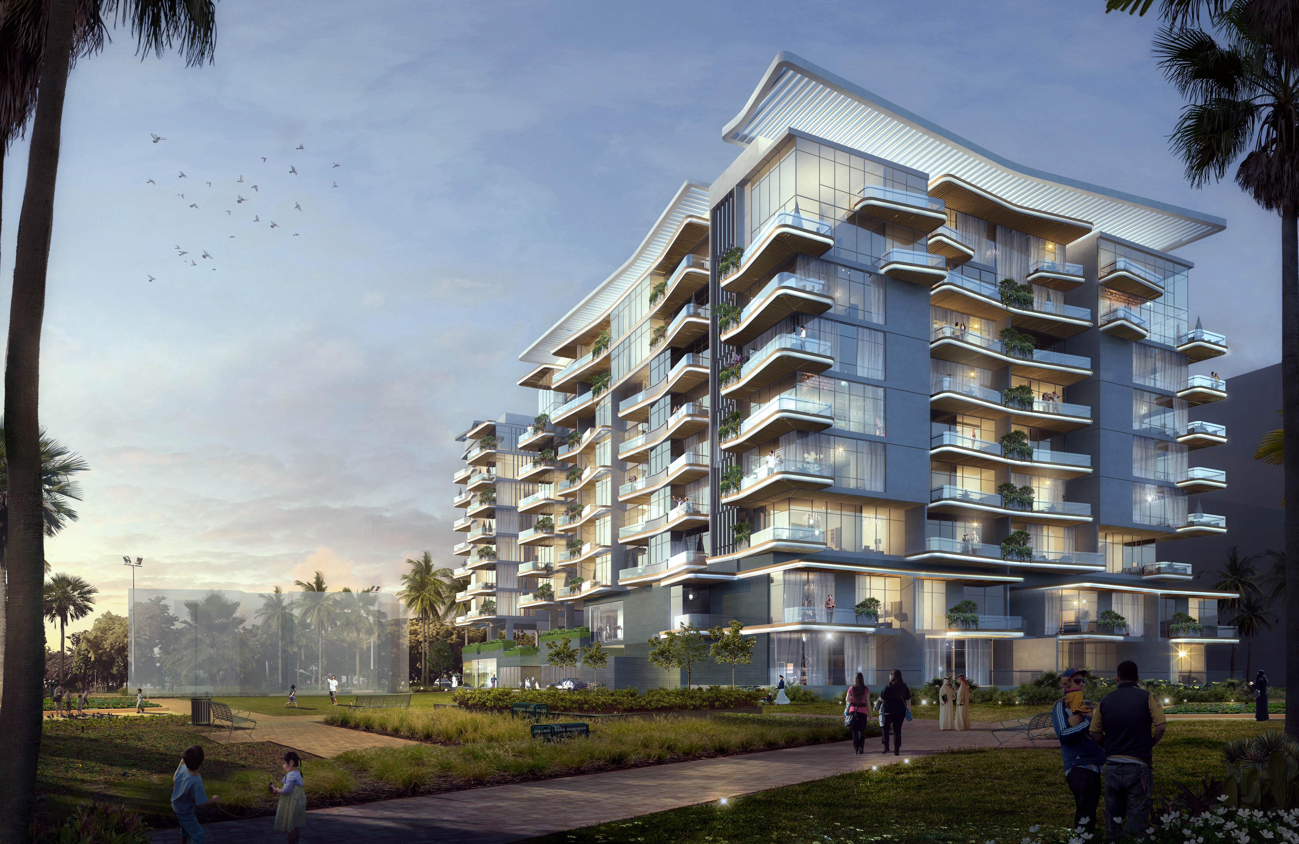 Gemini begins construction of luxury apartment project in