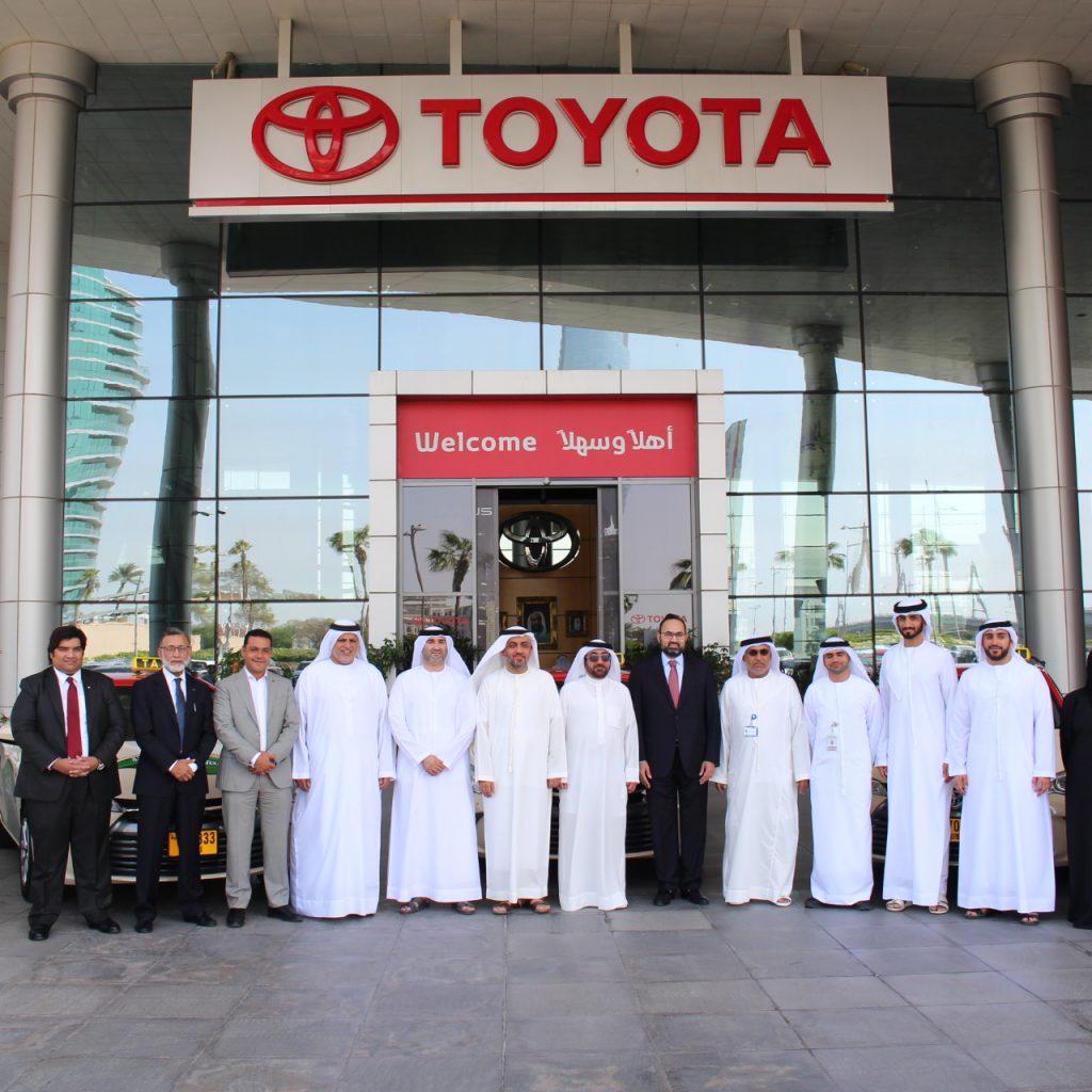 Al-Futtaim supplies 554 Toyota Camry hybrid taxis to DTC