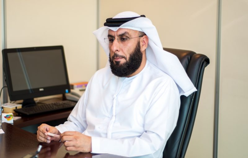 Quick chat with Ahmed Al Hammadi, roads department, MoID