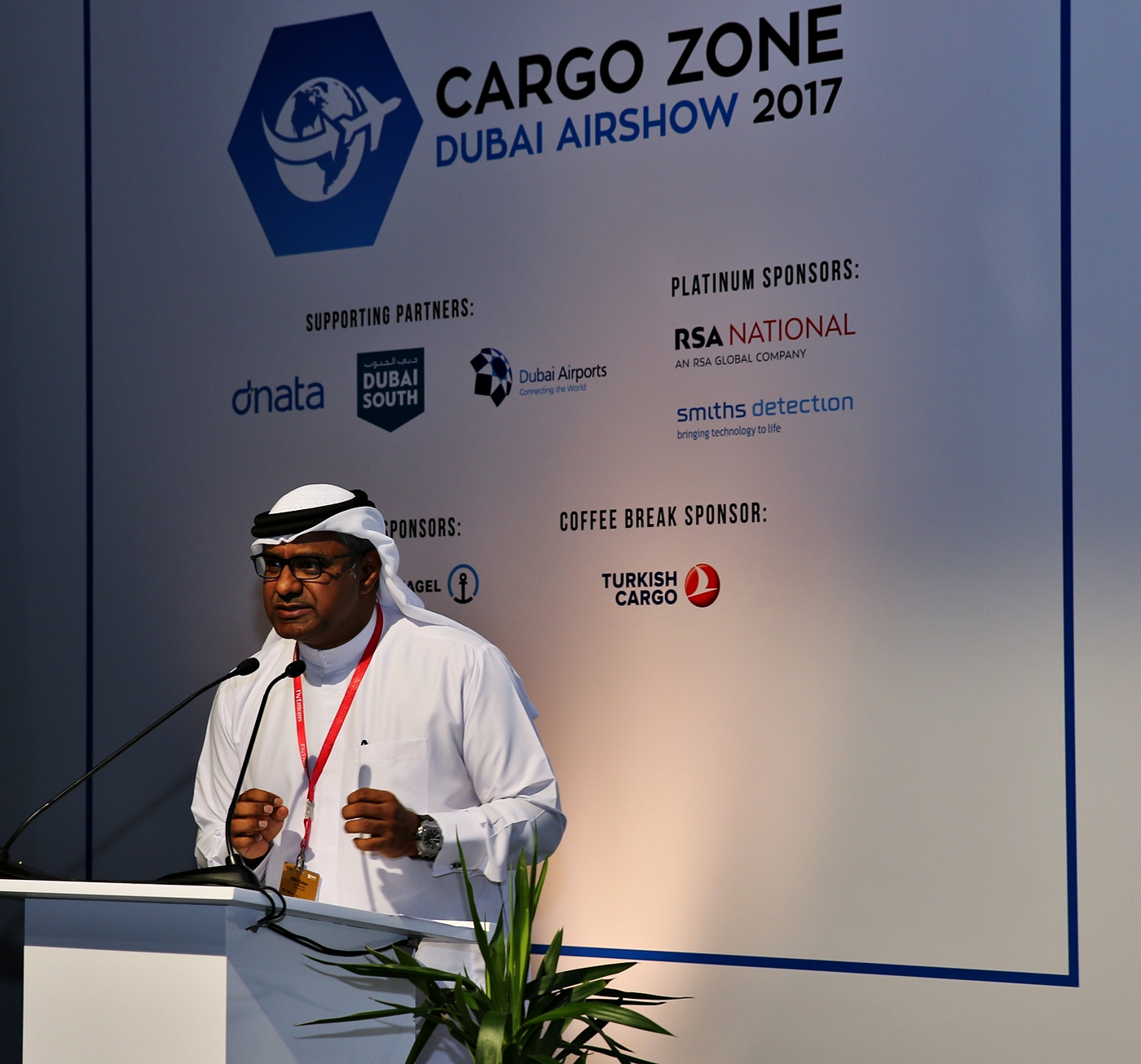 Nabil Sultan talks about shift in the cargo sector