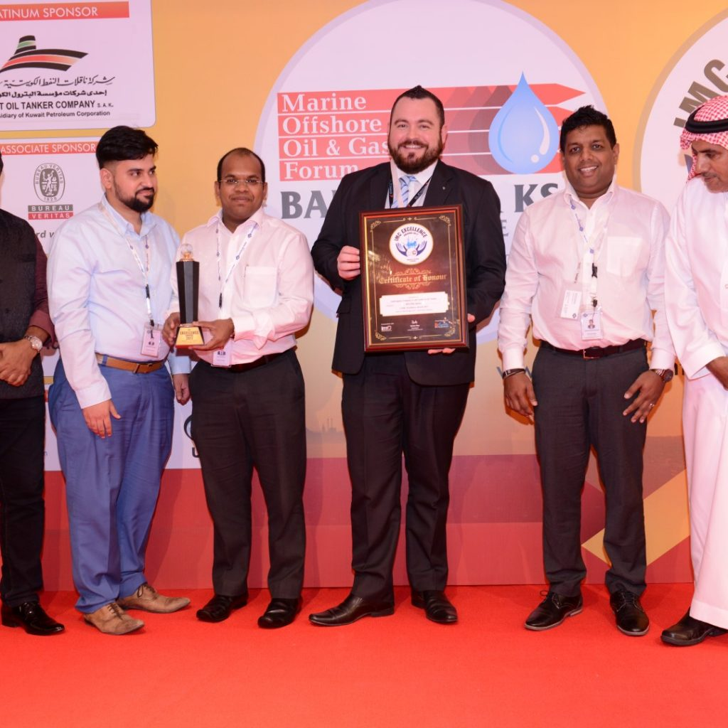 GAC Saudi Arabia wins 'Best Ship Agency' at IMC Excellence