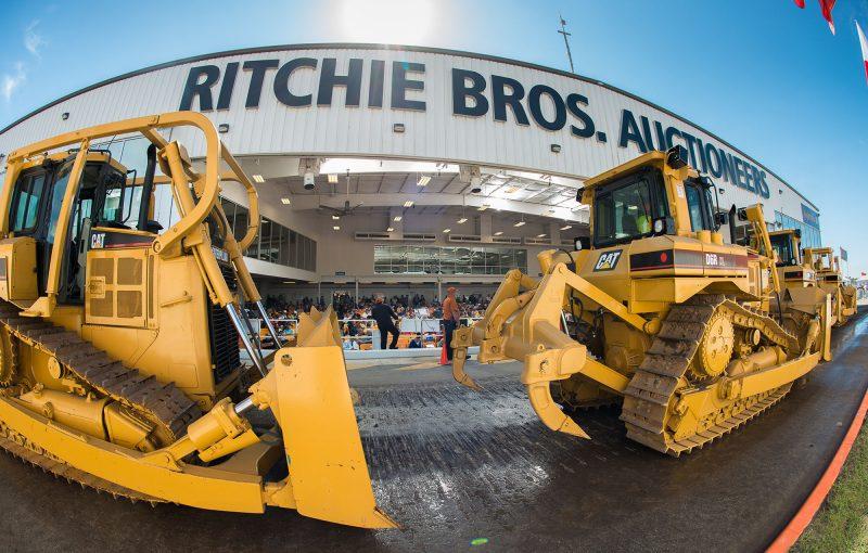 Video: Ritchie Bros auction in Dubai