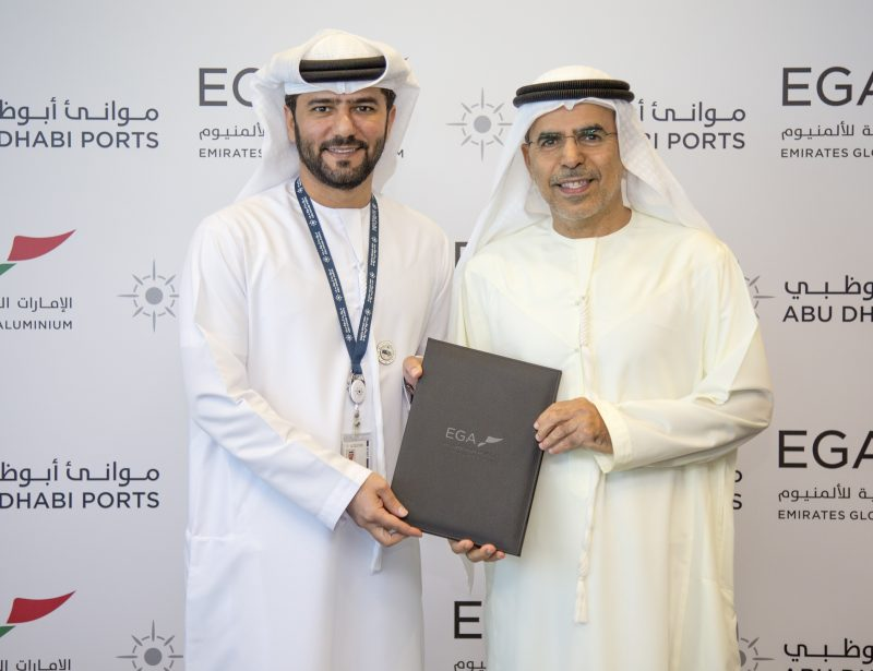 EGA signs 'large cargo vessel' agreement with Abu Dhabi Ports