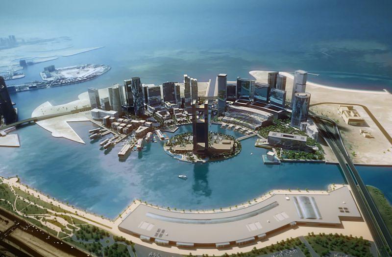 Above the crowd: Gagan Suri, Bahrain Bay