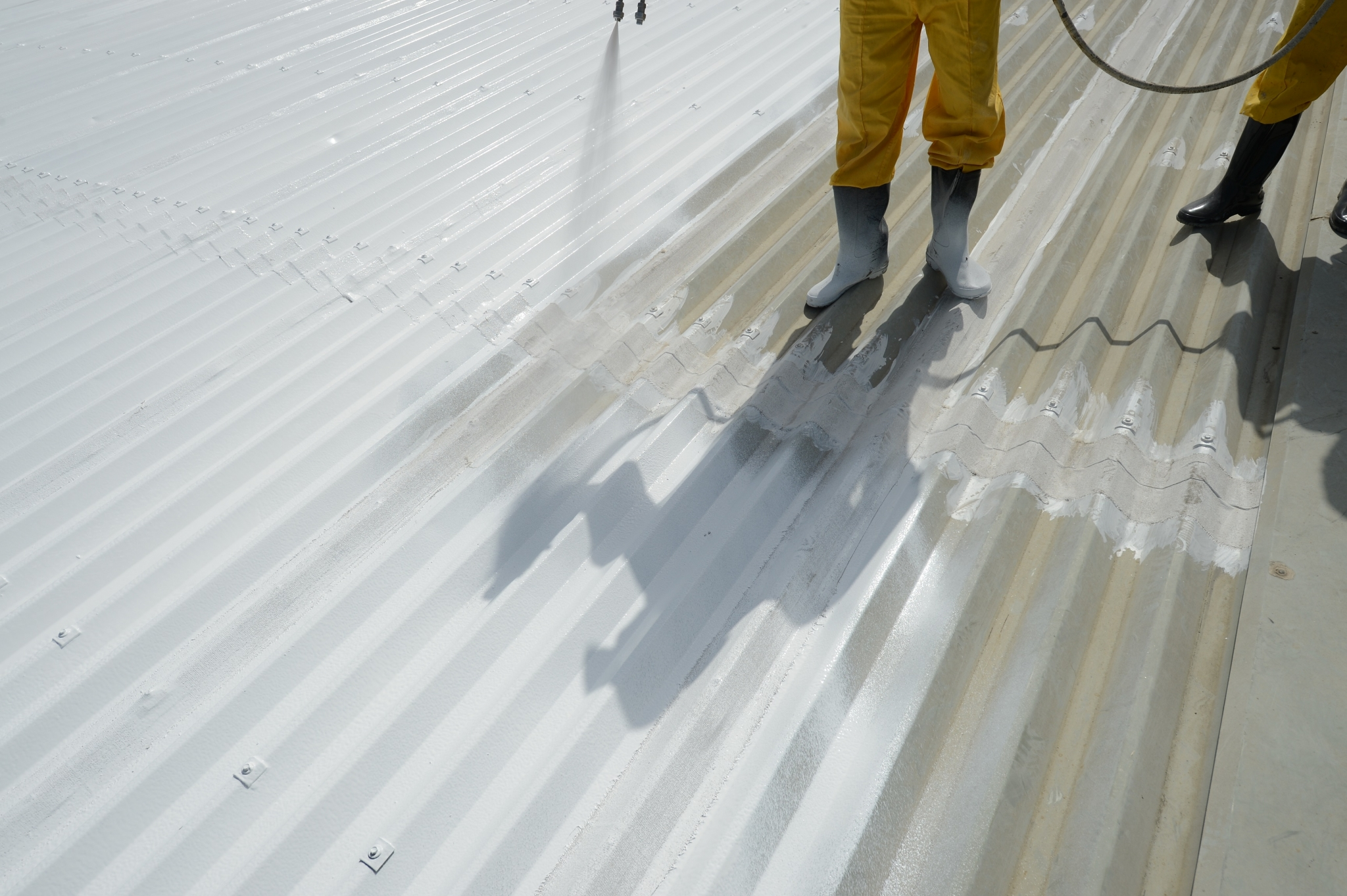 Cool reflective roof coatings by Dow