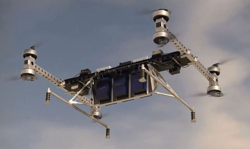 Boeing unveils unmanned electric cargo air vehicle prototype