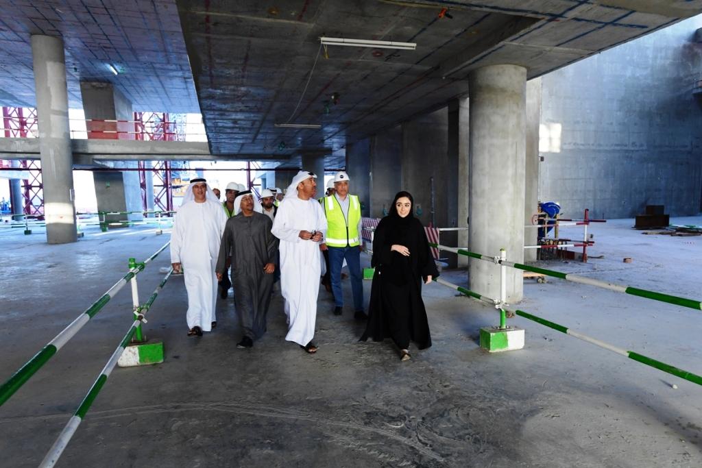 Lootah inspects Mohammed Bin Rashid Library