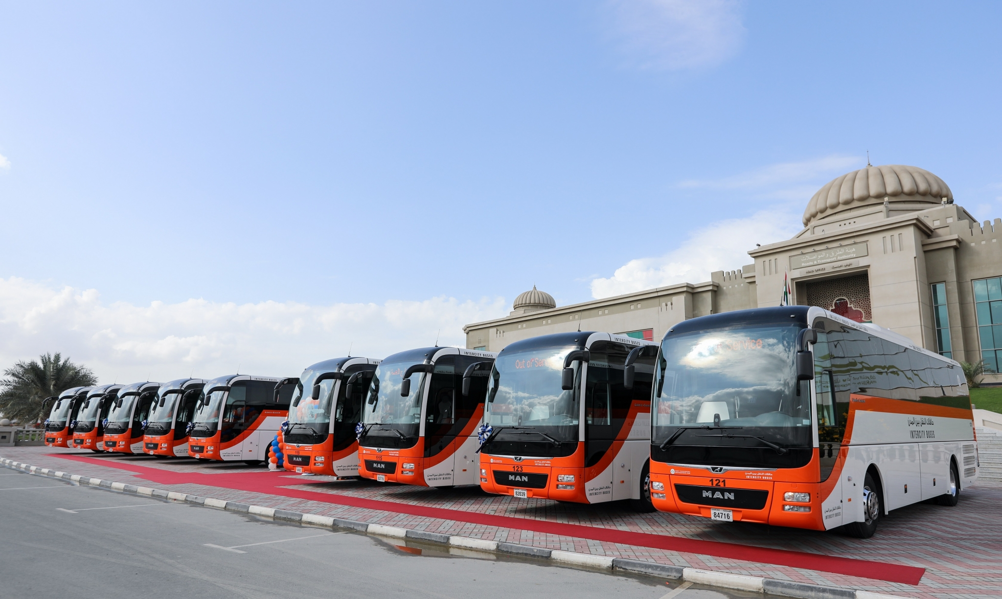 Man Delivers Safest Coaches To Sharjah Rta Construction