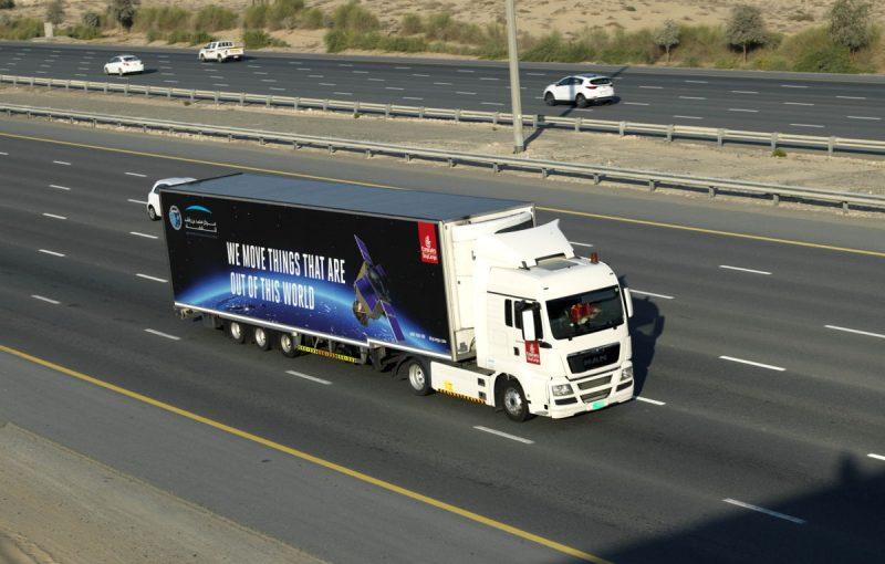 Emirates SkyCargo transports KhalifaSat