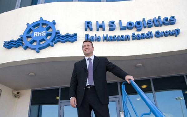 15. Richard Bell, RHS logistics