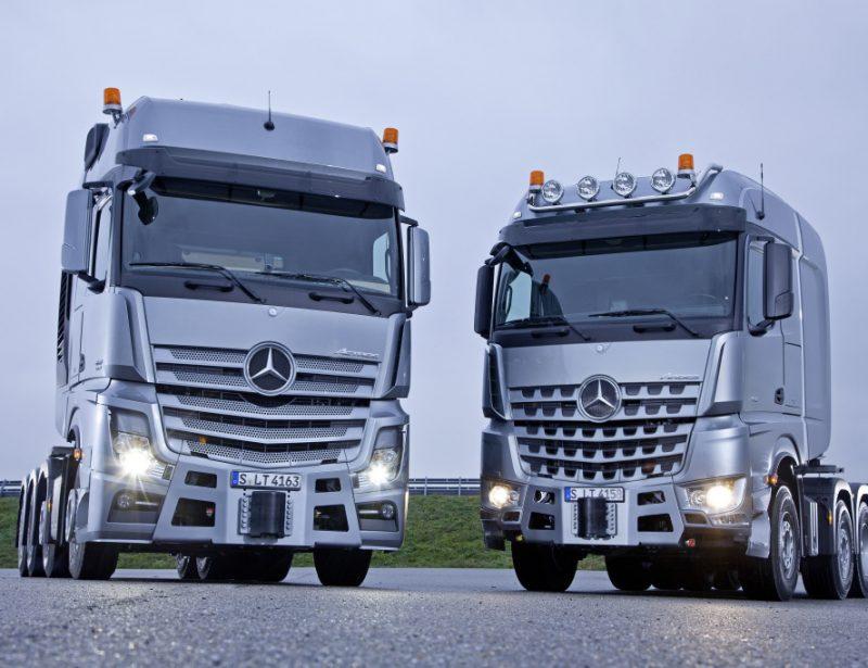 Mercedes-Benz Trucks launches Actros, Arocs