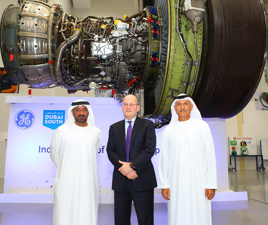 GE Aviation launches engine support centre in Dubai South