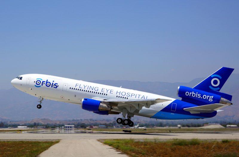 Health takes wings: The Orbis Flying Eye Hospital