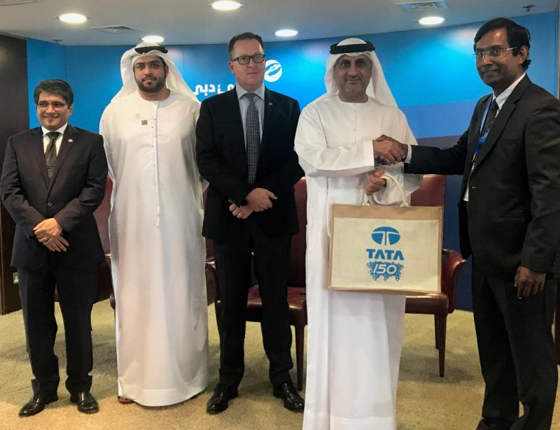 DP World, Tata Group discuss trade strategies, cooperation