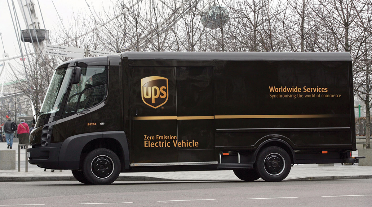 UPS to operate only electric vehicles in London