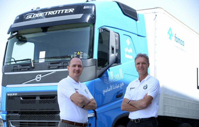 FAMCO launches 'safety edition' Volvo FH truck: Part II