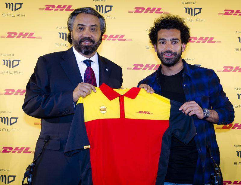 DHL Express announces Egyptian footballer Mohamed Salah as MENA ambassador