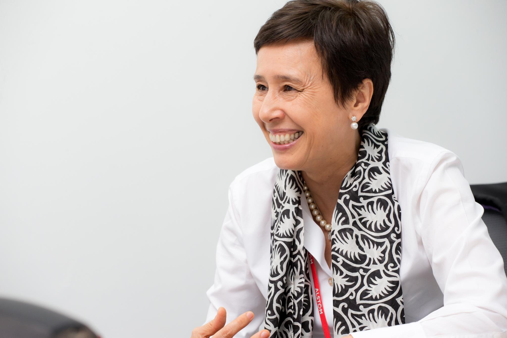 Thi-Mai Tran, managing director, Alstom GCC // Copyright BNC Publishing