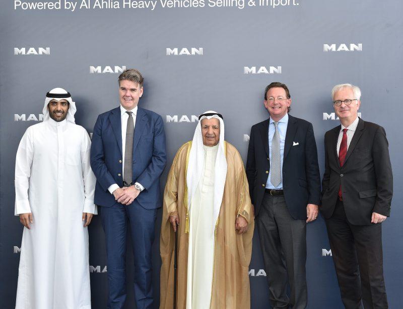 Kuwait: Al-Ahlia inaugurates 16,000sqm MAN trucks facility