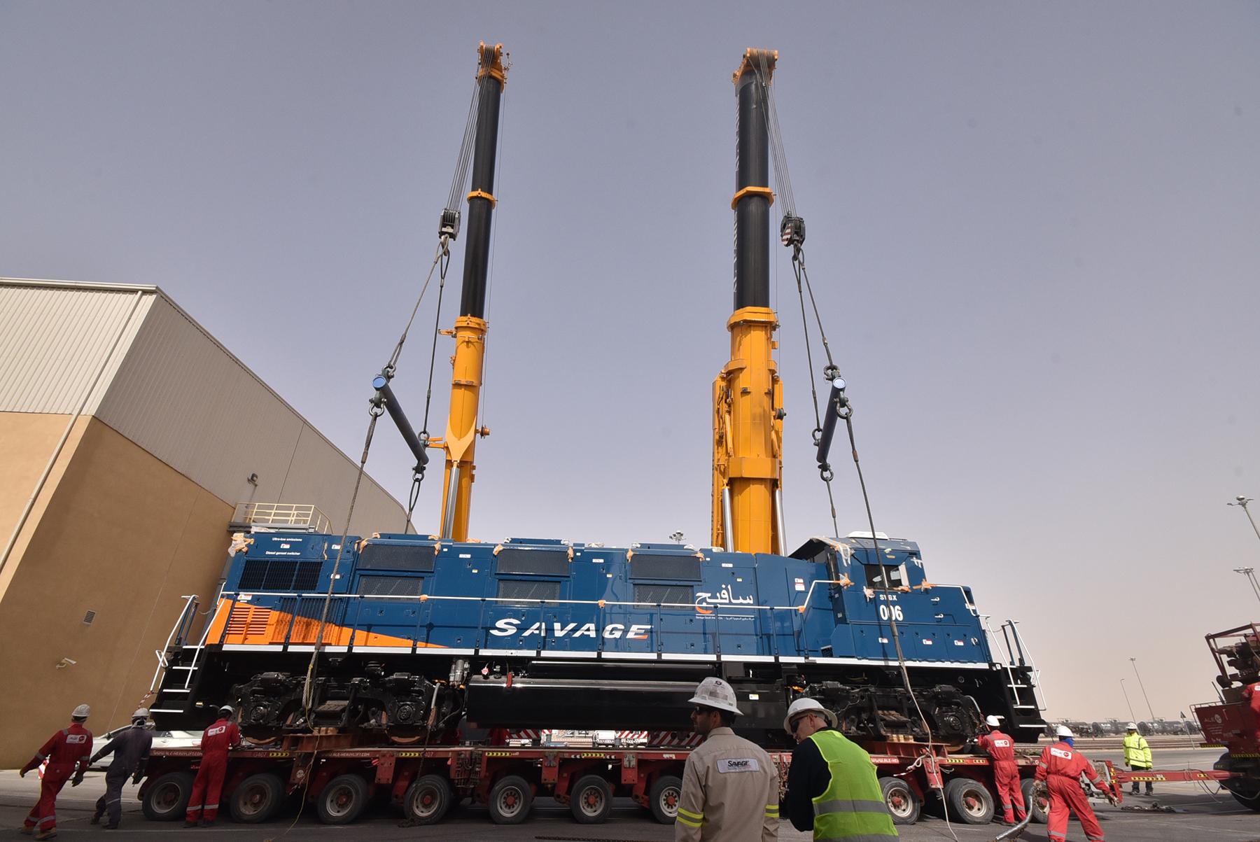 Savage Saudi Arabia supplies locomotives to Saudi Aramco, MWSPC