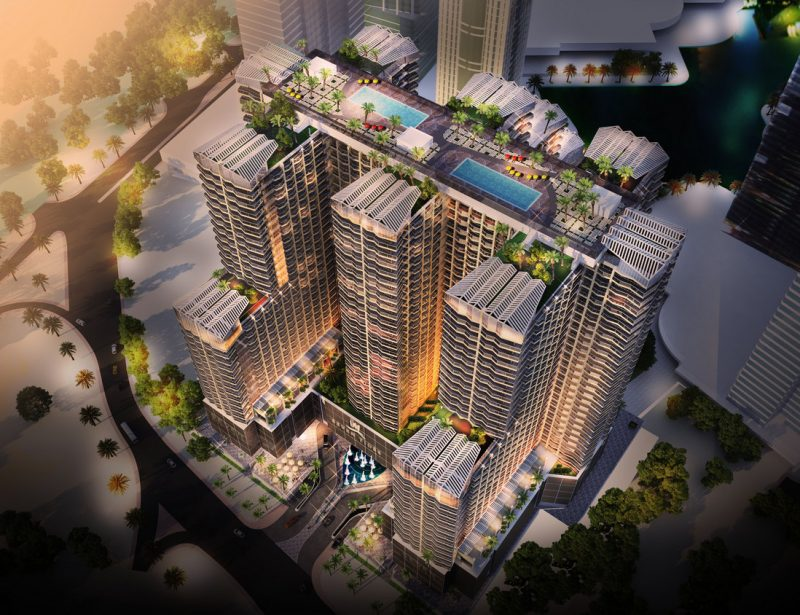 Dubai: AED1.3bn mixed-use project by Seven Tides 15% complete