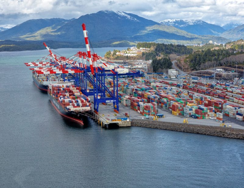 DP World, Port of Prince Rupert sketch out container terminal expansion plans