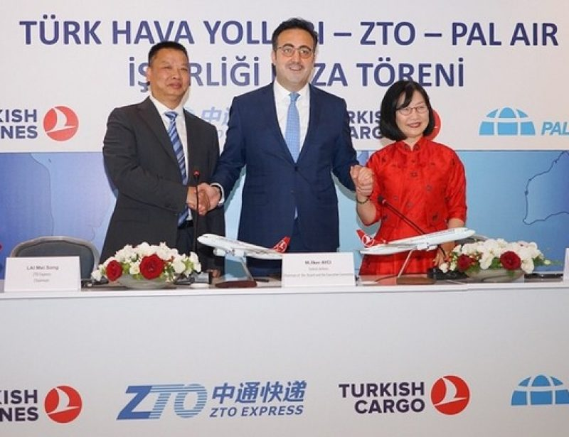 Turkish Airlines, ZTO Express, PAL Air form joint venture