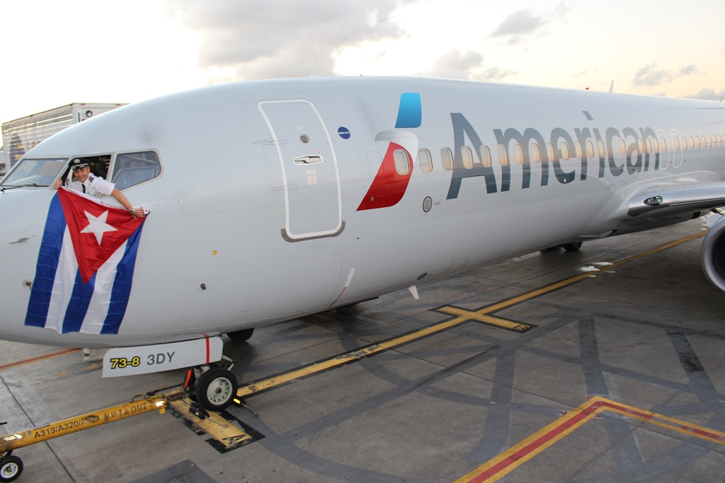 American Airlines begins cargo service to Cuba