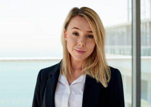 Chloe Hilton, Business Development Manager at Pacific, Al Marjan Island