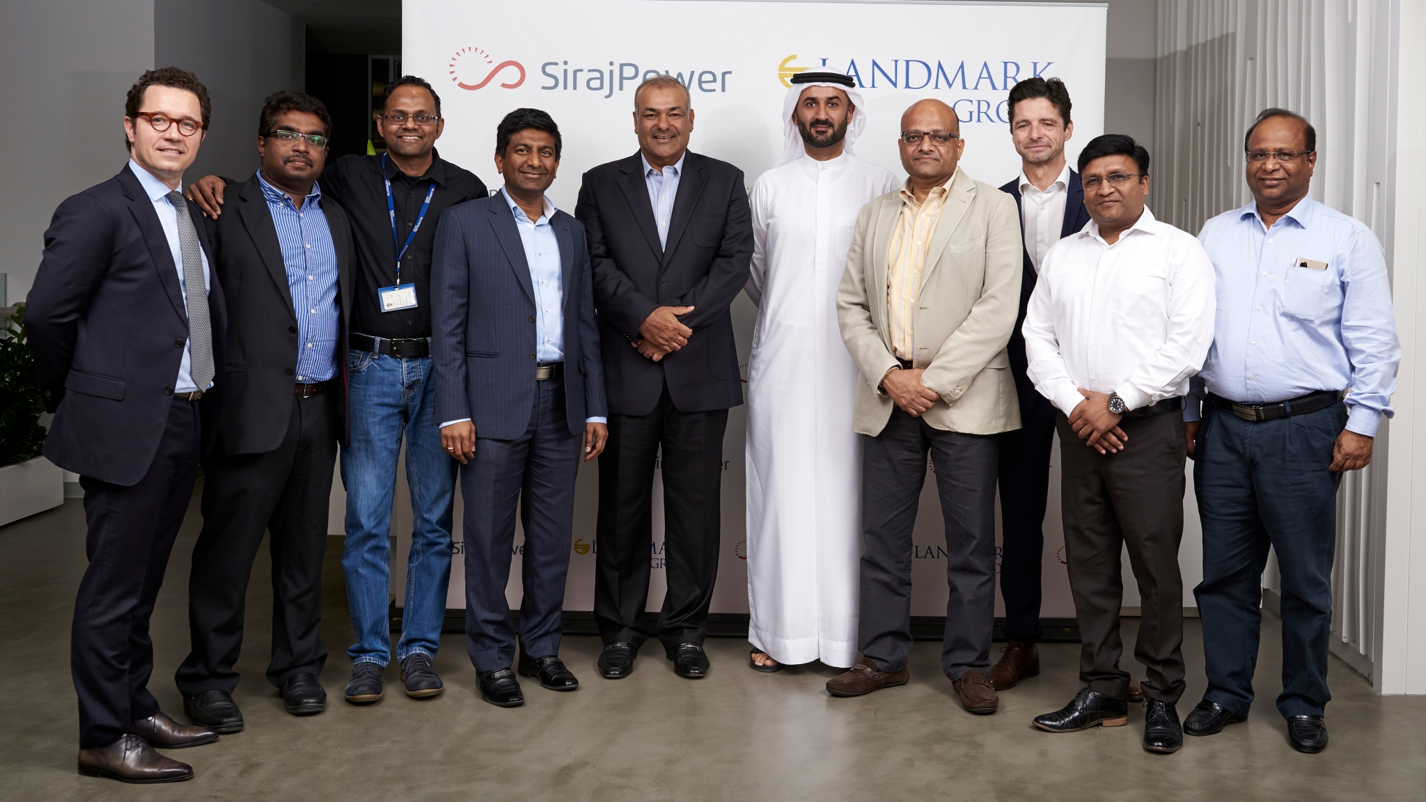SirajPower to implement solar rooftop at Landmark Group facility