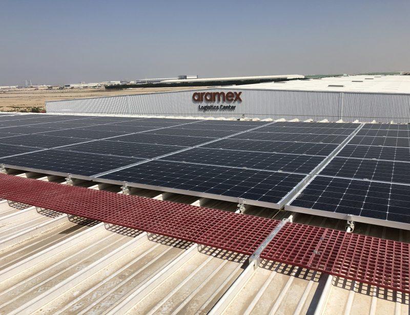 Aramex installs 3.2MW rooftop solar plant at Dubai facility