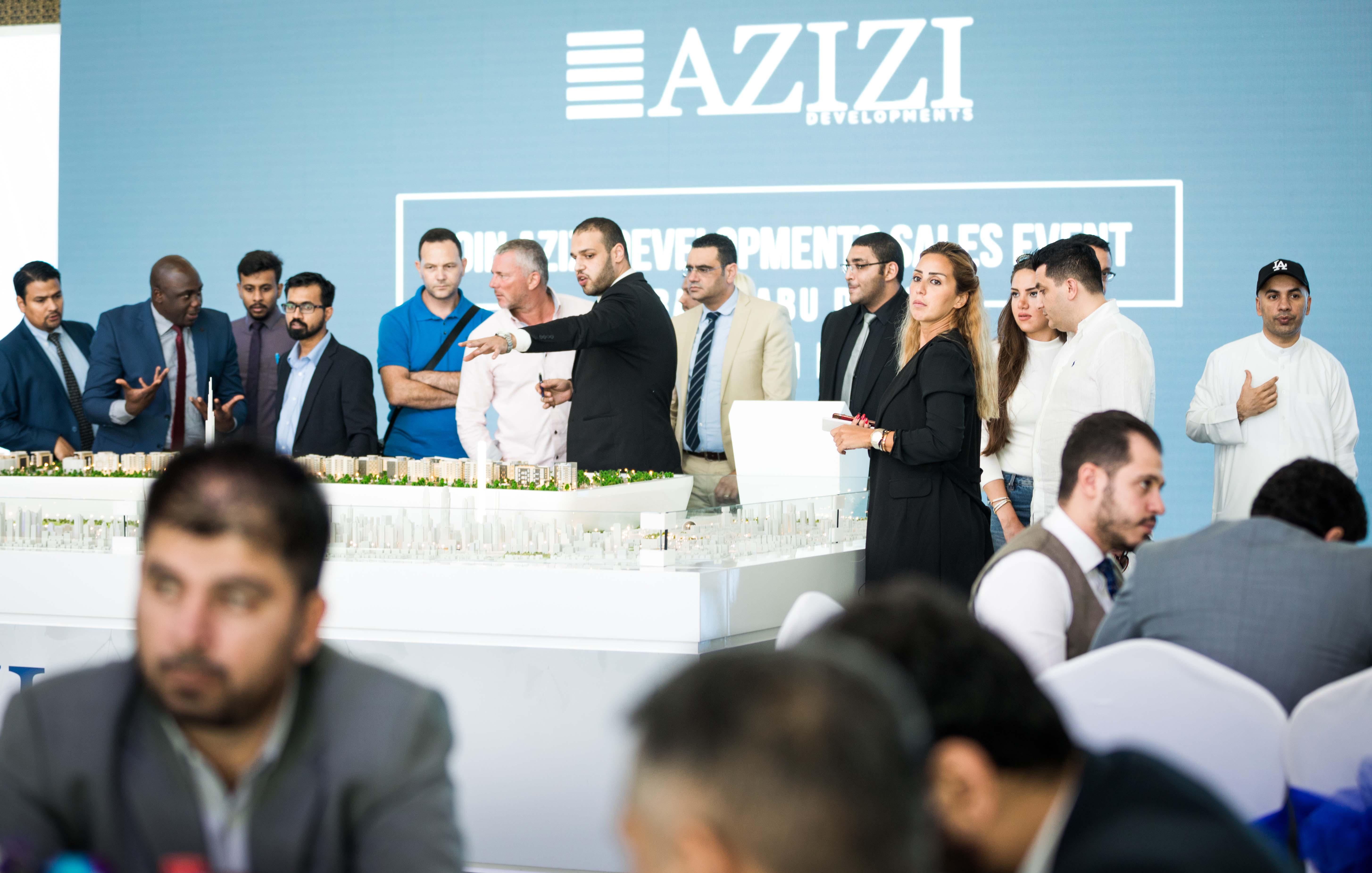 Azizi Developments sales event