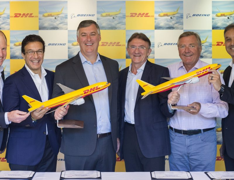 DHL signs $4.7bn Boeing freighters purchase agreement