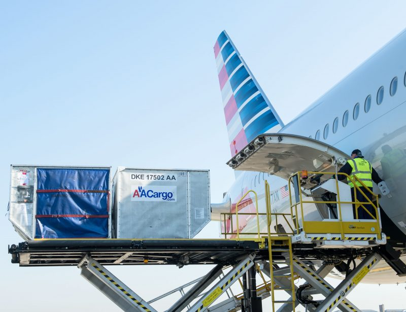 American Airlines Cargo shuttles 158,000T in Q2 2018