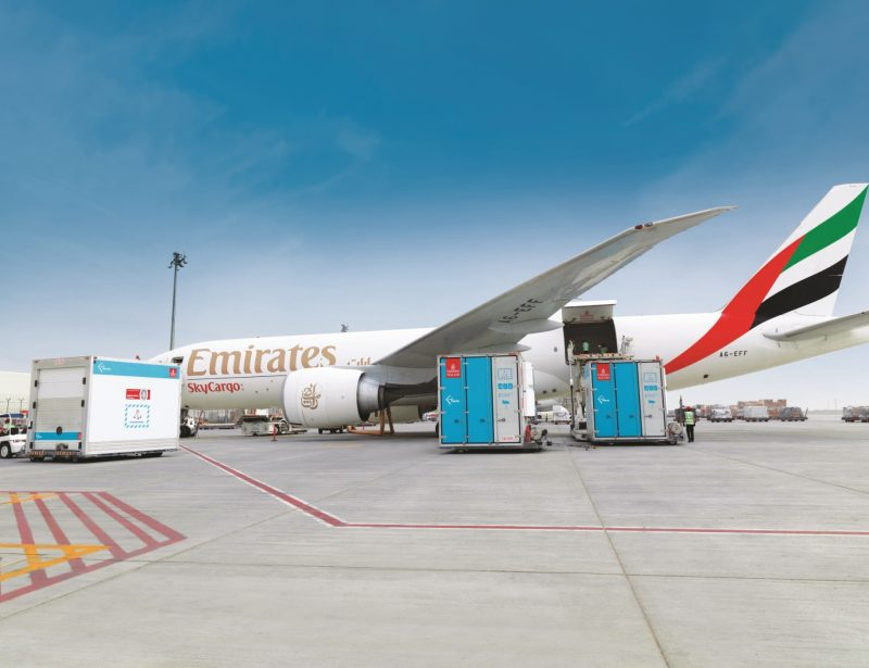 Emirates SkyCargo delivers medical equipment between Seoul, Africa