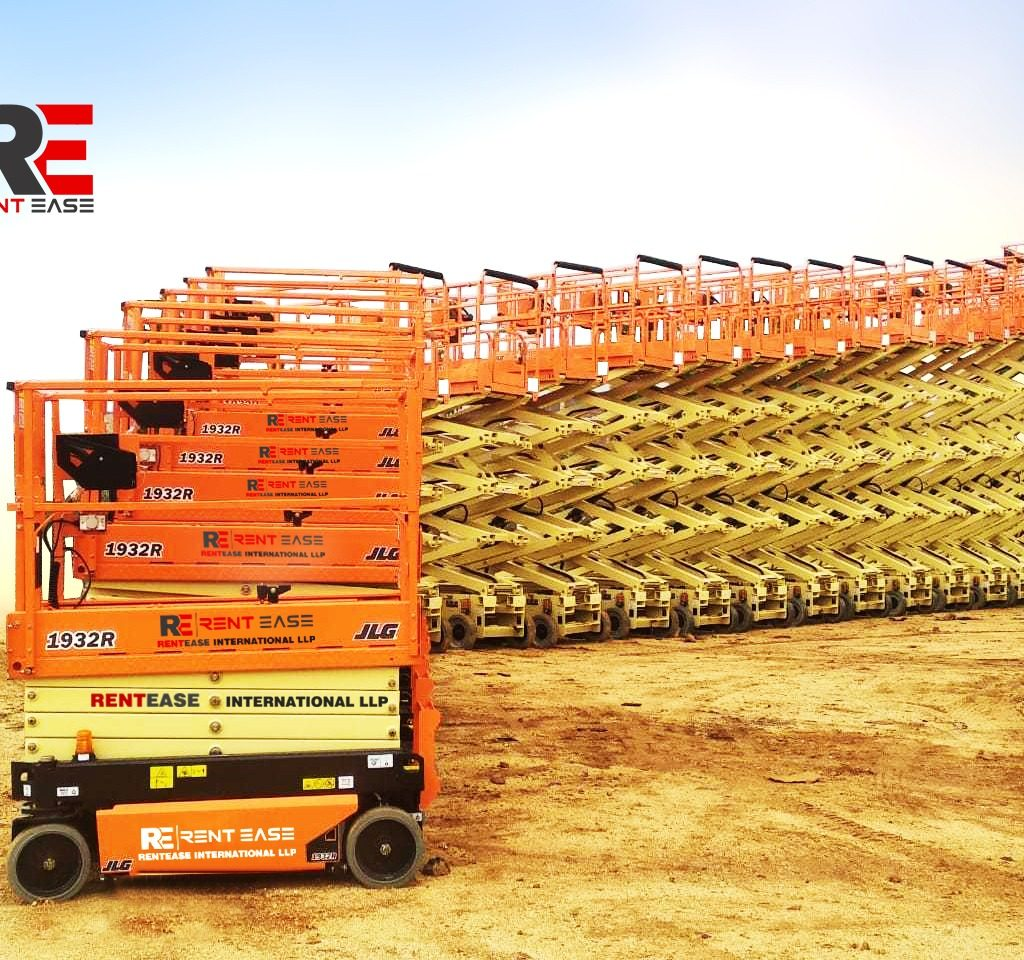 JLG delivers 32 scissors lifts to Indian AWP rental company