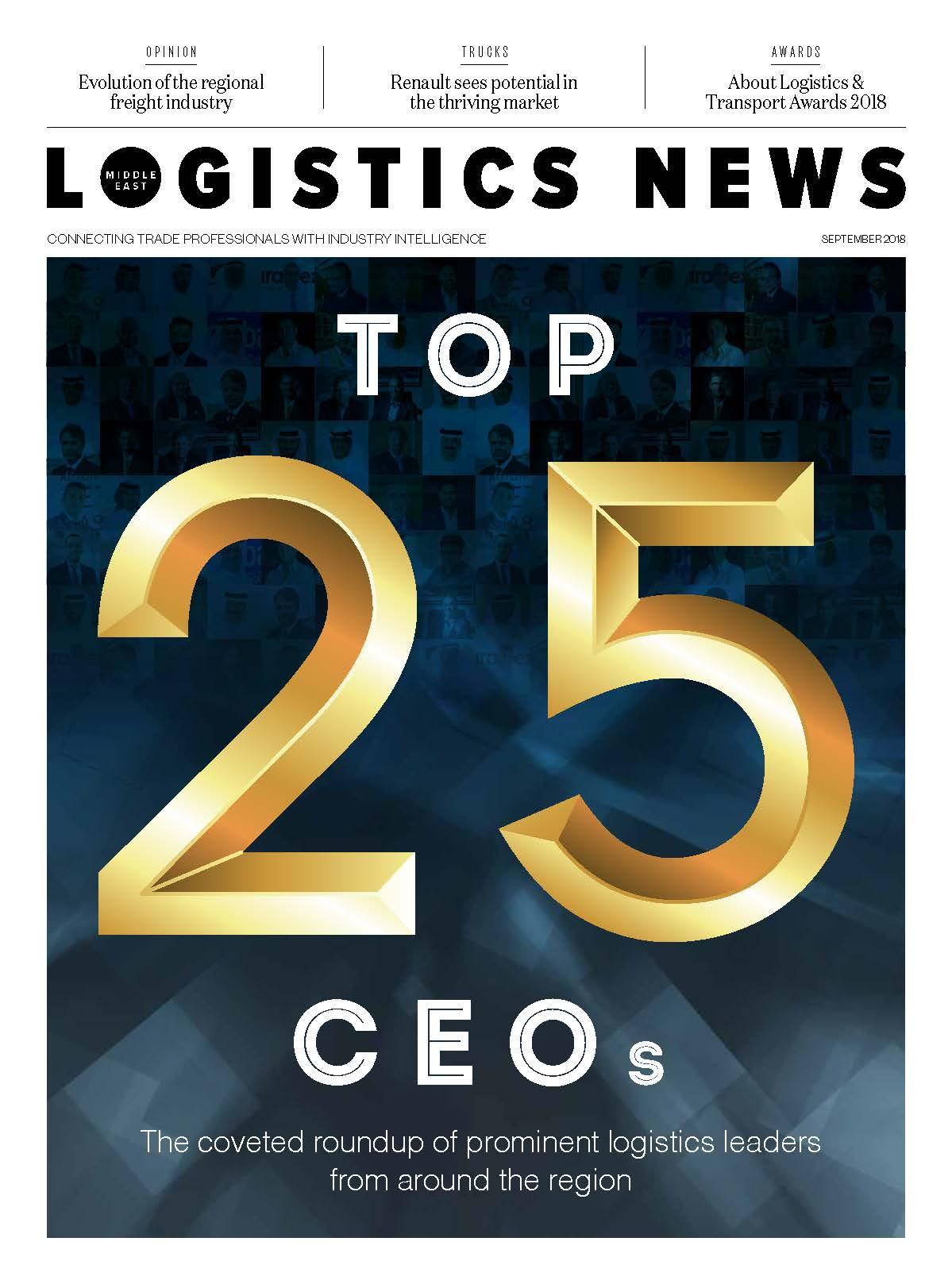Logistics News ME - Septmebr 2018