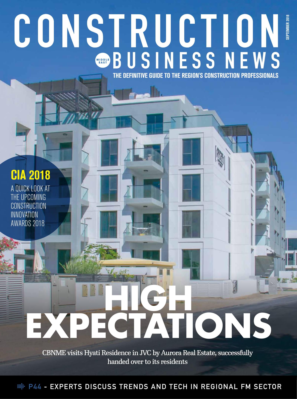Construction Business News September 2018