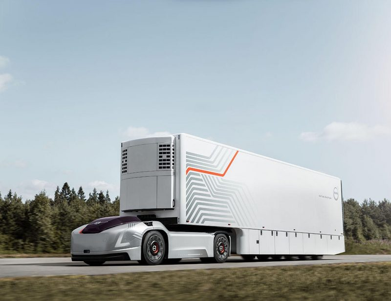 Volvo Trucks unveils self-driving, electric vehicle Vera