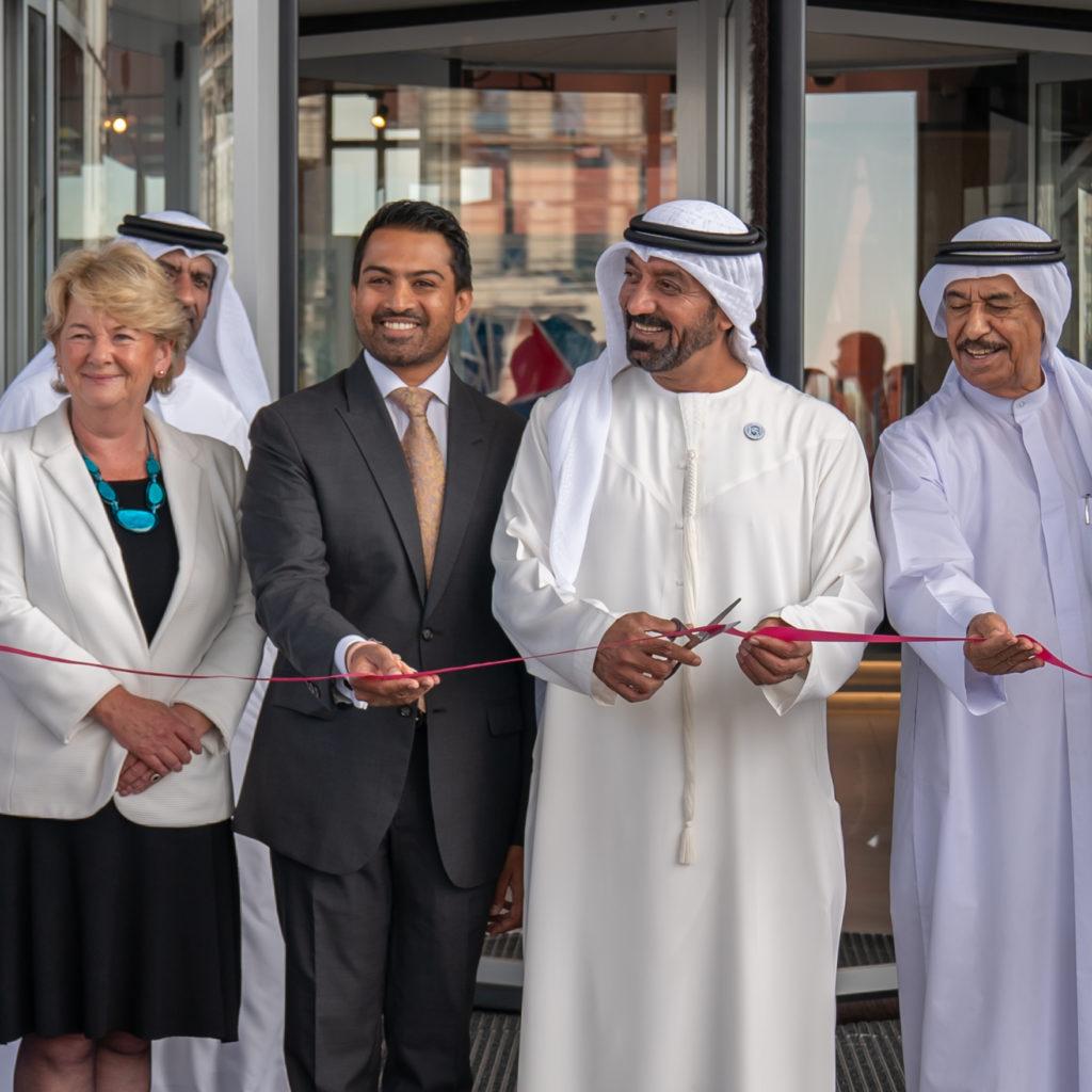HH Sheikh Ahmed Bin Saeed Al Maktoum inaugurates Aloft Dubai