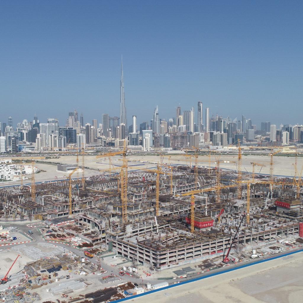 448a2057c Site Visit  Meydan One Mega Mall Set For 2020 Launch - Construction ...