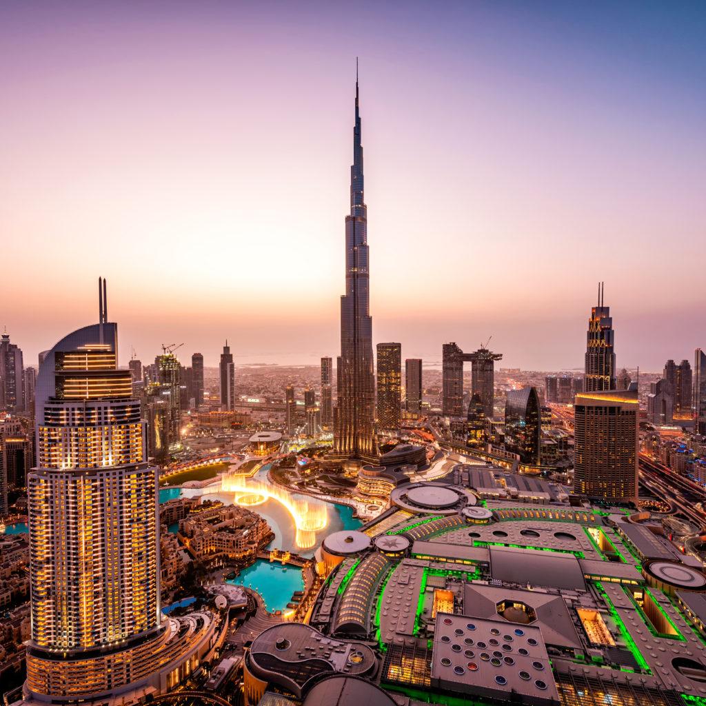 Expo 2020 Dubai Drone Footage Video Release - Construction Business
