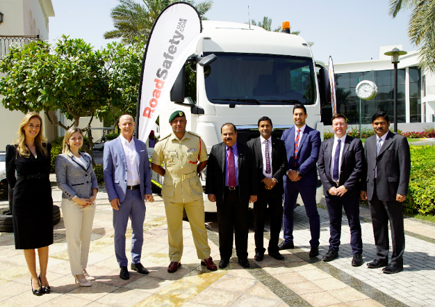 MAN Truck & Bus Middle East, Dubai Police and RoadSafetyUAE join