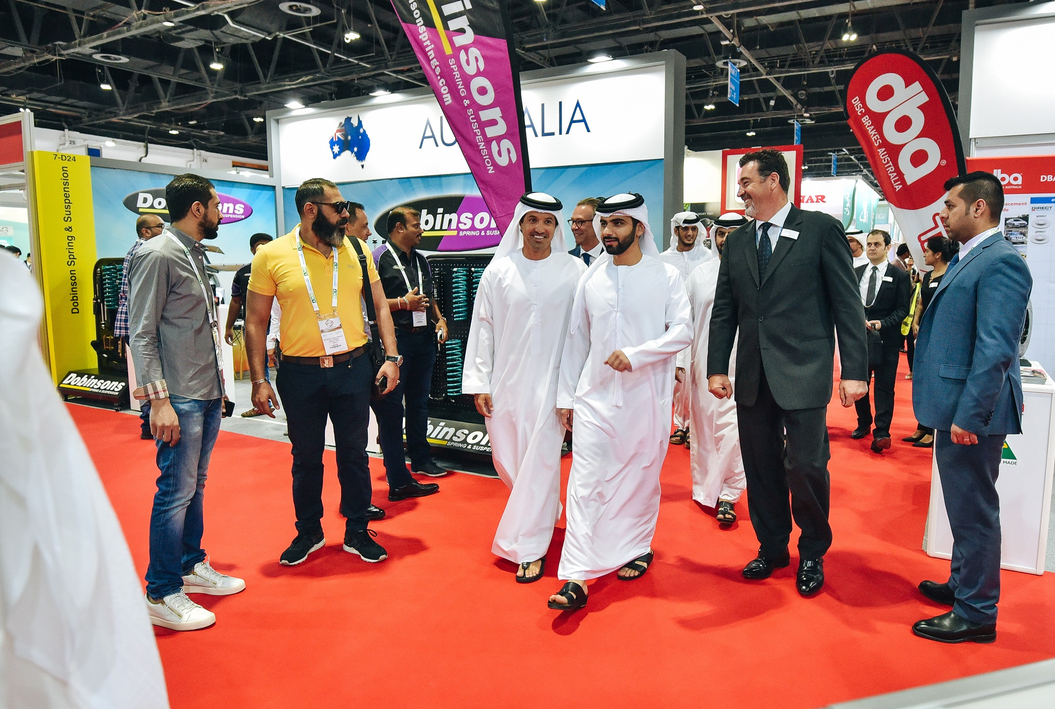 His Highness Sheikh Mansoor Opens Automechanika Dubai 2019 Construction Business News Middle East