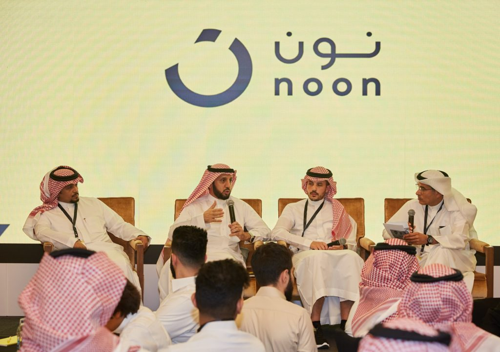 Mohamed Alabbar speaks at noon com's first seller event in